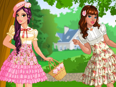 Loving nature dress up game